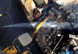 major fire breaks out at construction site in mumbai