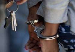 model arrested for throwing stones at doctor s house in