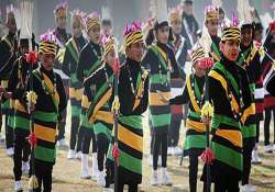 naga ao tribals celebrate post sowing festival with gusto