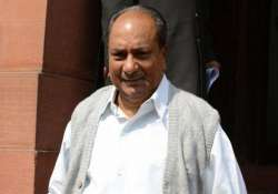 no proposal to set up new commands for space assets antony
