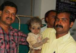 one and a half year old kid rescued after 3 hours from 20