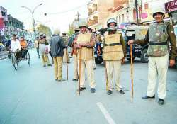 four arrested for lucknow violence