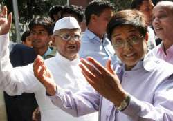 opposition to lokpal cost cong dearly says team anna