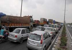parts of delhi up highway closed today