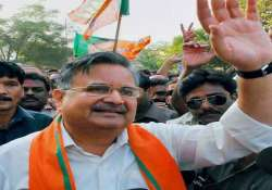 raman singh to take oath as cm for third time on dec 12