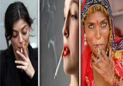revealed india has second highest number of women smokers