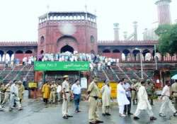 rs 55 lakh reward for clues on jama masjid attack