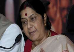 russian deputy pm holds talks with swaraj