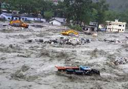 ssb academy damaged in uttarakhand rains