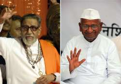 sena chief targets hazare his key team members