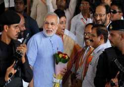 seven layers of security for modi during bkc rally today