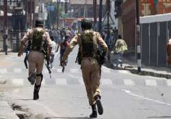 six armymen indicted for kashmir staged shootout