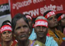 stalemate over telangana bill continues