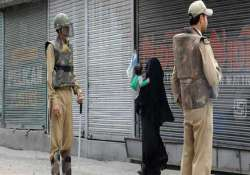 strike disrupts normal life in kashmir curfew on in shopian