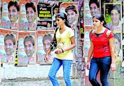student posters deface delhi walls authorities helpless