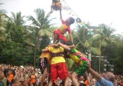 sc relaxes dahi handi norms 12 kids can be govindas now
