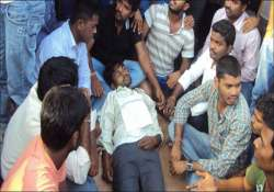 tension in osmania university following student s suicide