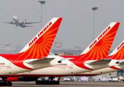 two air india flights delayed due to hurricane sandy