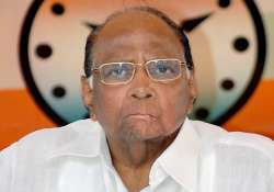 upa vulnerable after dmk pullout says pawar