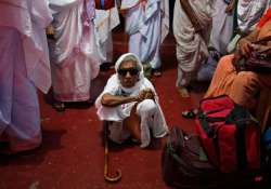 watch in pics the solitary sad lives of vrindavan widows
