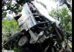 30 students injured as bus falls into pit