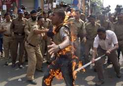 5 injured as police open fire during student rally in assam