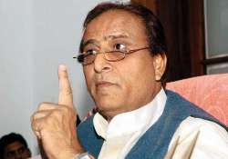 azam khan blames rss for up clashes