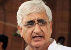 centre firm on setting up a strong lokpal khurshid