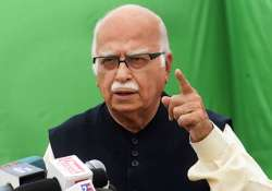 democracy and dynastic succession cannot co exist advani