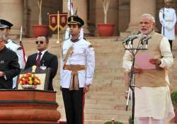 government spent rs 17.60 lakh on narendra modi s oath