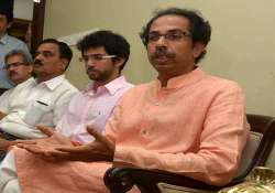 shiv sena leaders meet to decide strategy ahead of assembly