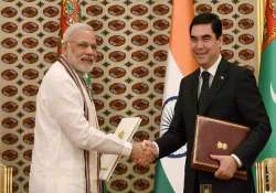 pm modi pitches for early implementation of tapi project