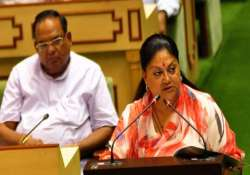 vasundhara raje asks media to maintain credibility