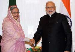 pm modi to hold talks with hasina in dhaka on saturday
