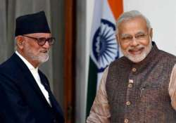 nepal meet pm modi conveys support leaves open his