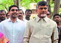 tdp announces central committee chandrababu naidu s son is