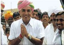 suspended mla manvendra hopeful to be back in bjp