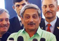 will make non aggressive but strong india asserts parrikar