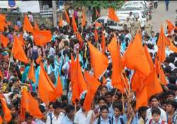 abvp protests at st.stephen s college over sexual harassment