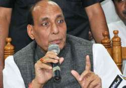 iraq crisis not to affect oil supply to india rajnath singh