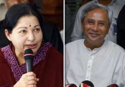 jayalalithaa meets brother naveeen patnaik