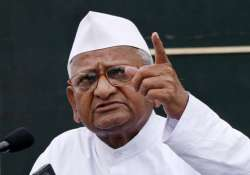lokpal bill anna hazare to go on indefinite fast from dec 10