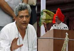 modi s maiden i day speech comes under fire from left