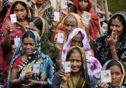 nearly 62 polling recorded till in wb 1 pm