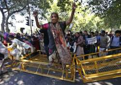 new delhi district saw record protests during parliament