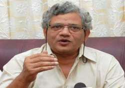 no scope for blackmail by cong bjp yechury on third front