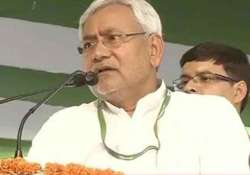 not worried about congress rjd alliance says nitish
