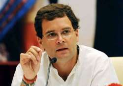 rahul gandhi interacts with cms of 12 congress ruled states