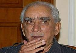 old bjp warhorse jaswant singh files nomination says he was
