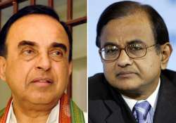 swamy says chidambaram is a shameless person